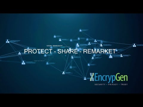 Control Your Genomic Data with EncrypGen