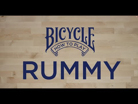 How to play Rummy - Bicycle Playing Cards - Card Game Tutorial & Rules thumbnail