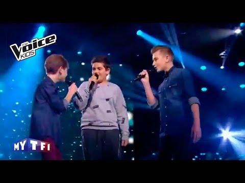 The Voice Kids 2016 | Tiago - Armani - Diego sur ''Le chant des sirènes''  |  Battle