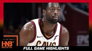 Dwyane Wade (10 pts, 2 blk) Full Highlights vs Bucks / Week 4 / Cavaliers vs Bucks