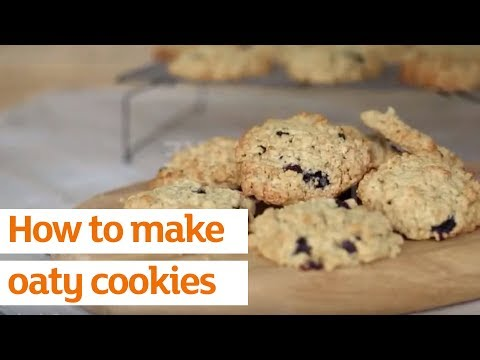 How to make oaty cookies | Recipe | Sainsbury's