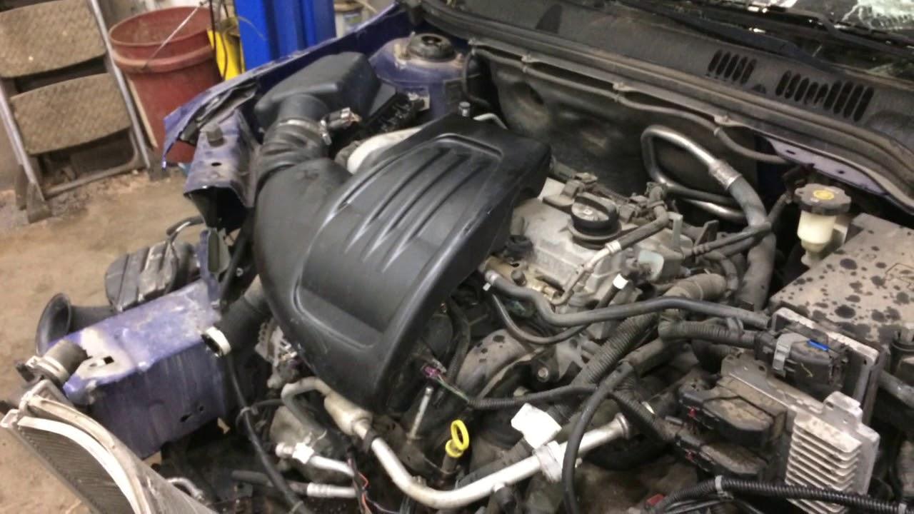 W072 Pontiac G5 Ecotec Engine Run Test