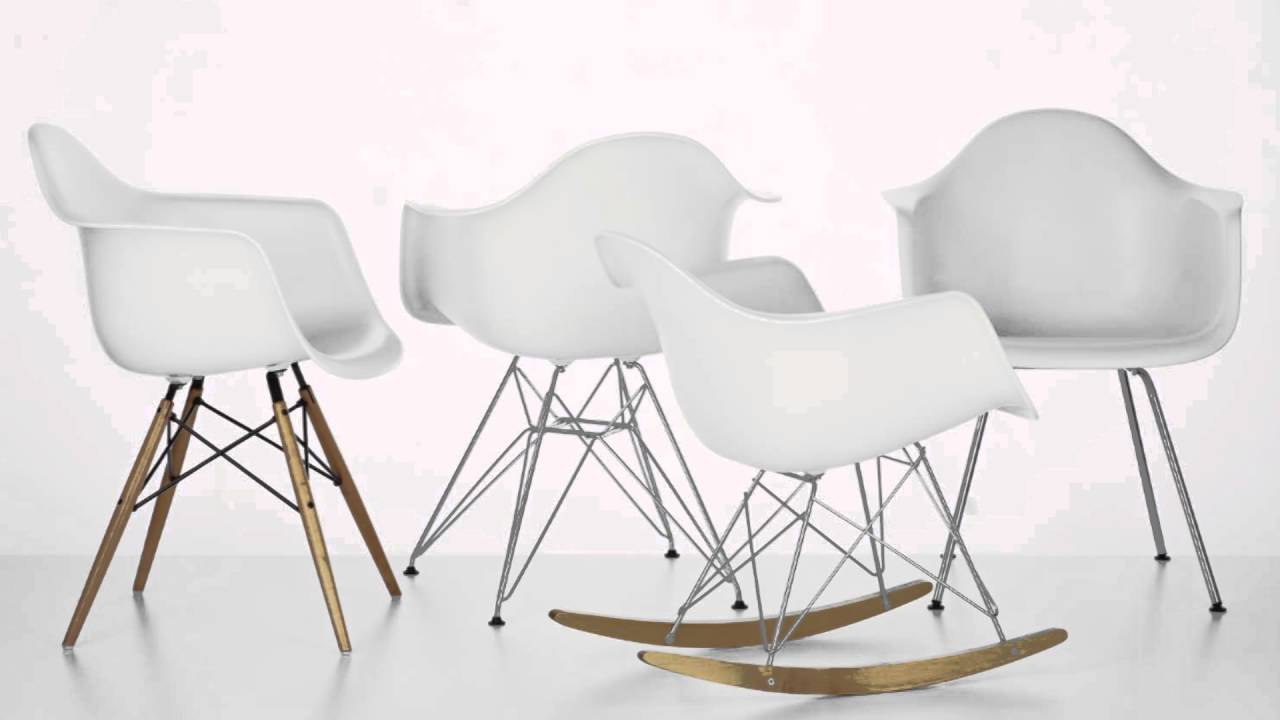 Silla Charles Eames Silla Eames Materiales Youtube