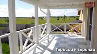Канадский панельно-каркасный щитовой дом. Каркасное строительство под ключ.(, 2013-06-21T14:39:56.000Z)