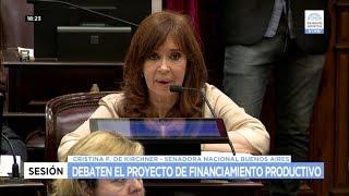 El Senado aprobó el proyecto sobre financiamiento productivo que regresa a Diputados