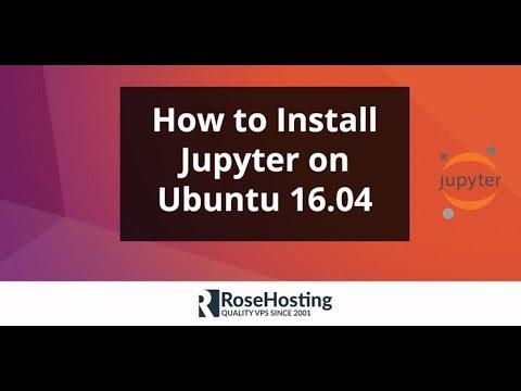 install ipython notebook ubuntu 16.04