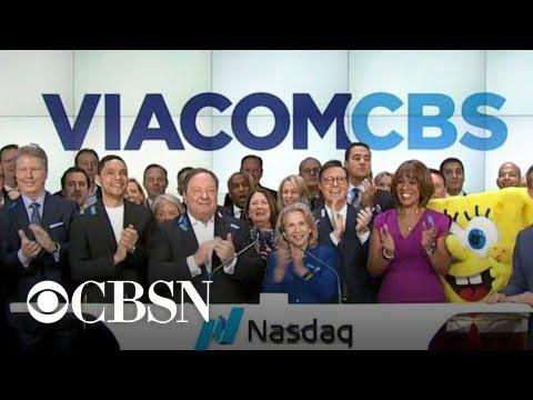 ViacomCBS rings Nasdaq opening bell