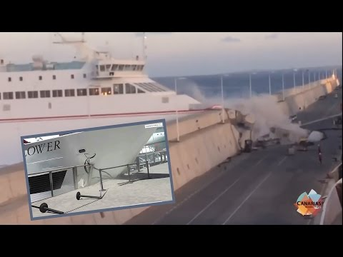 Ferry CRASHES into Harbor Walls in Incredible Accident! | What's Trending Now!