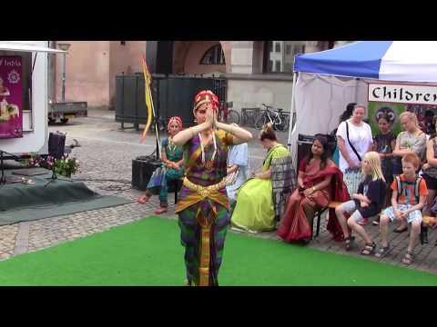 Indian Classic Dance, by Lenka, in Wonderful Copenhagen 2/
