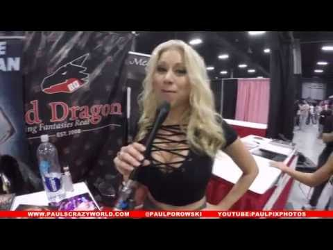 Adult Stars Questions Part 1 At Exxxotica 2016, Edison NJ