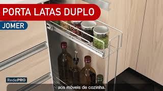 Rede Pró Oferta Imbatível - Porta Latas Duplo