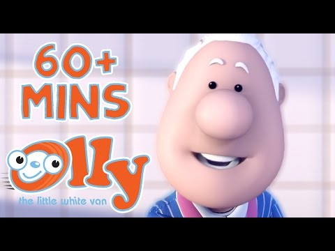 Olly The Little White Van - December Special | 60+ minutes | Kids Cartoons