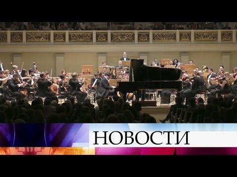 В Берлине выступил оркестр Российско-немецкой музыкальной академии под руководством В.Гергиева.