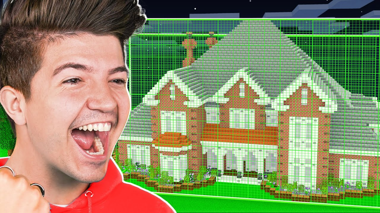 Building a Minecraft House But You HAVE to CHEAT
