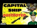 Elite Dangerous Capital ship destroyed but by whom ?