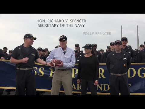 SECNAV and USS  Hopper Have a Message For Army