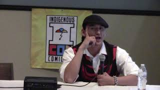 Indigenous Comic Con 2017 - Isleta Resort & Casino | Eugene Brave Rock Clip 4