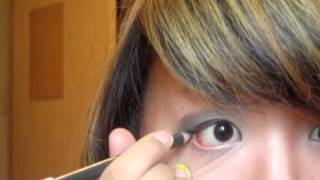 gyaru inspired makeup tutorial t0nyaxiong