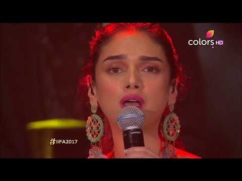 Aditi Rao Hydari Singing Live | Vaan Varuvaan | IIFA Rocks 2017 | A.R.Rahman | Kaatru Veliyidai | HD