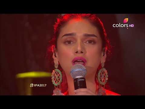 Aditi Rao Hydari Singing Live | Vaan Varuvaan | IIFA Rocks 2017 | A.R | Kaatru Veliyidai | HD