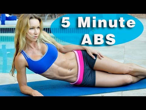 5 Minute Workout #45 - ABS ABS ABS!!!