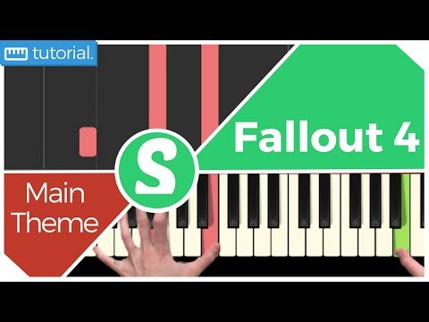 "How to play ""MAIN THEME"" from Fallout 4(Synthesia) [Piano Video Tutorial] [HD]"