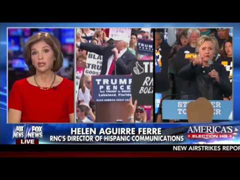 RNC Hispanic Communications Director Helen Aguirre-Ferre On