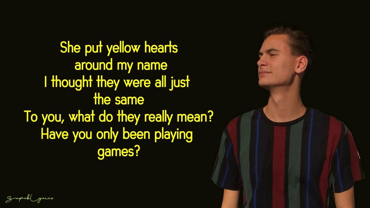 yellow hearts lyrics