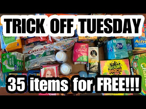 DOLLAR TREE COUPONING | 35 Items For FREE | I Can't Believe This Happened😳