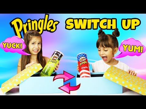 PRINGLES Switch Up Challenge - GROSS Flavors