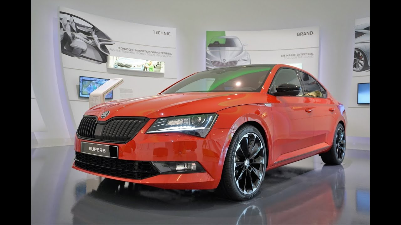 skoda superb sportline sitzprobe youtube. Black Bedroom Furniture Sets. Home Design Ideas