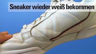 Schuhe Wieder Sauber Bekommen