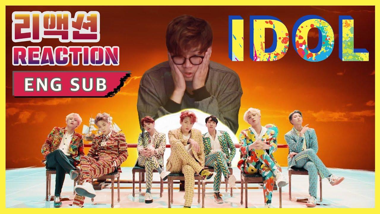 [ENG SUB]뮤비감독의 BTS(방탄소년단) - IDOL(아이돌) 리액션(Reaction)
