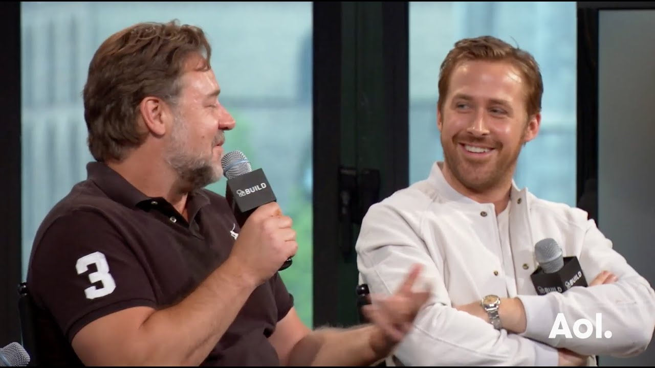 Ryan Gosling, Russell Crowe, Matt Bomer, Shane Black ...