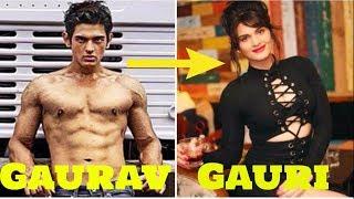 Shocking Transformation-From Gaurav to Gauri Arora  Splitsvilla India's Top model 