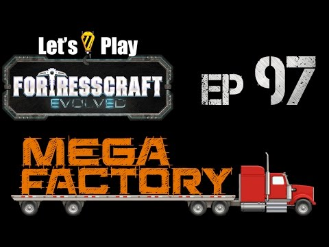 FortressCraft Evolved : Mega Factory - Ep 97 Deep Mining
