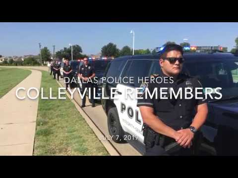 Colleyville Police remember Dallas Police officers