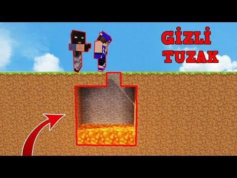 HIRSIZ VS POLİS #13 - En Gizli Tuzak (Minecraft)