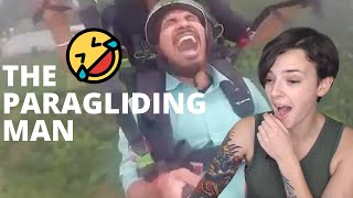 Paragliding in manali | Adventure in Manali | REACTION!!