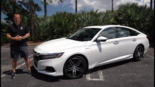 Is the 2021 Honda Accord Hybrid a better sedan than the Camry or Sonata?