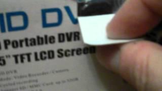 видео Видеорегистратор HD DVR