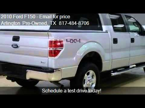 2010 ford f150 xlt 4x4 flex fuel sprayed bed sync. Black Bedroom Furniture Sets. Home Design Ideas