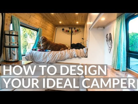 What you NEED TO KNOW to DESIGN your VAN BUILD | VAN LIFE