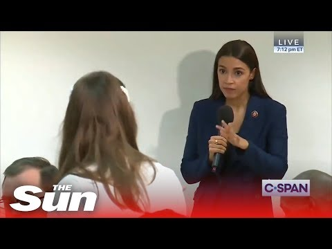 Voorhees - Woman Suggests to AOC We Need to 'Eat Babies'