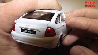 ЛАДА ПРИОРА (LADA PRIORA) хэтчбек обзор модели масштаб 1:43