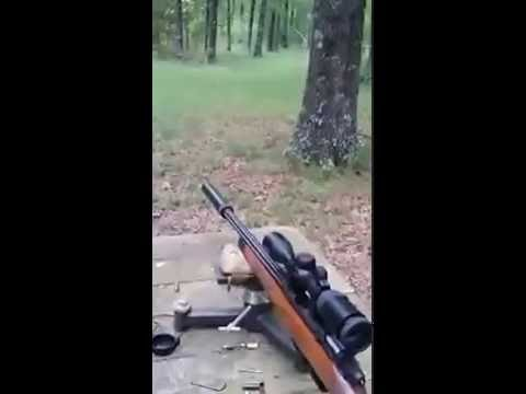 9mm Bolt action rifle