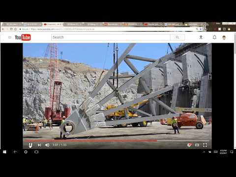 Are Oroville Dam spillway gates safe? (And what about those trunnions and tendons?)  8/2/17