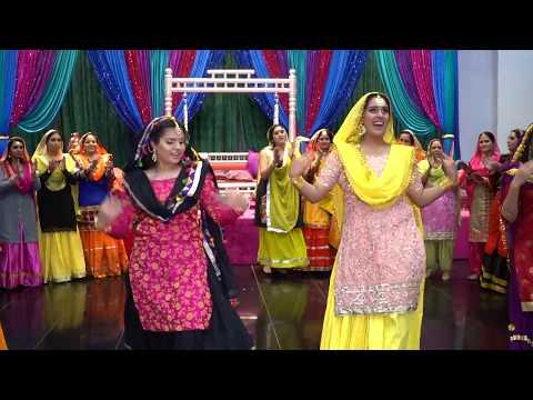 Raman's Ladies Sangeet Giddha Performance