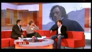 Toby Stephens BBC breakfast interview