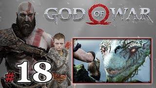 """GOD OF WAR [PS4] (18+) #18 - """"Pogaduchy z wężem"""""""
